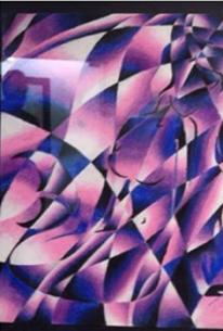Cubism Oil Pastels