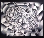 Cubism Oil Paslte
