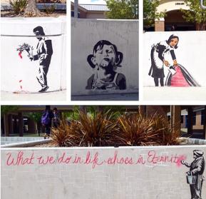Bansky Street Art @ DVHS