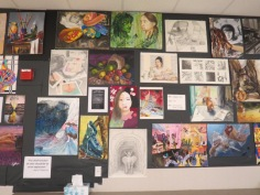 Breadth of student works